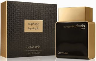 "Парфюмерная вода, Calvin Klein ""Euphoria Men Liquid Gold"", 100 ml"