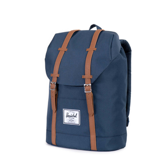 Рюкзак Herschel Retreat Navy/Tan Synthetic Leather