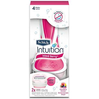 Бритвенная система SCHICK INTUITION Island Berry.