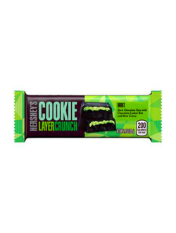 Батончик Hershey's Cookie Layer Crunch Mint с мятой