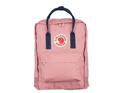 Рюкзак Fjallraven Kanken Pink - Royal Blue (No.2)