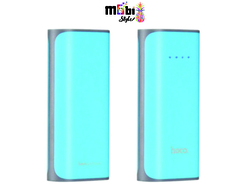 Power Bank HOCO B-21 (Голубой 5200mAh)