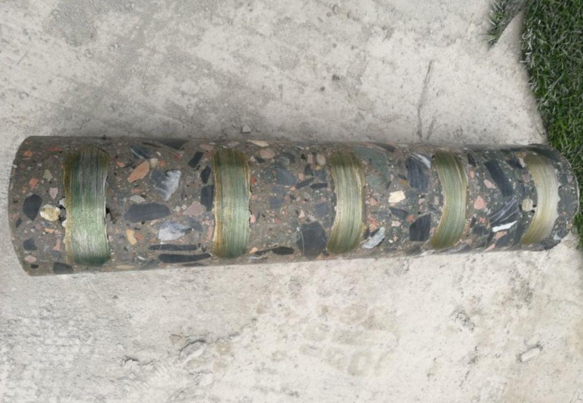 Алмазные буровые коронки BYCON. Лазерная пайка сегментов.