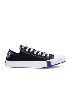 Кеды Chuck Taylor All Star Logo Play Low Top черные низкие