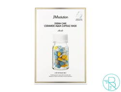 Маска тканевая JM Solution Derma Care Ceramide Aqua Capsule Mask восстанавливающая