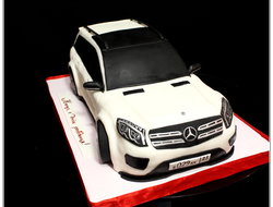 "Торт ""Mercedes benz GL"" Вес 5 кг."