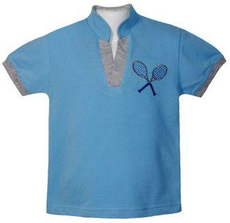 Батник (Артикул 2154-342) цвет голубой