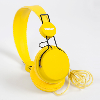 Наушники True Spin Basic Headphone Yellow