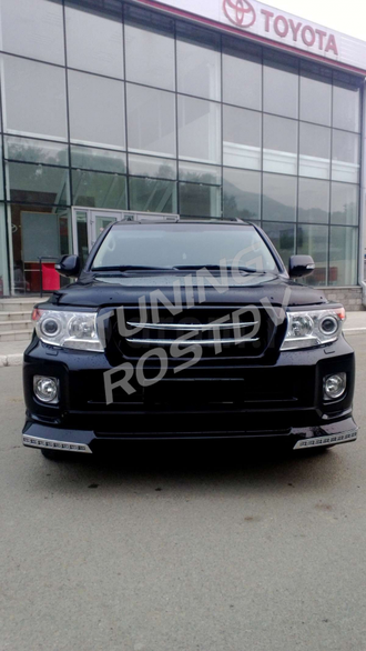 Обвес Urban Sport LED Toyota Land Cruiser 200 2012-2015 с подсветкой