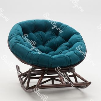 Кресло Swilly Rocker Papasan 7 орех