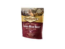 Сухой корм для кошек Carnilove Lamb & Wild Boar Sterilised for adult cats 400 грамм