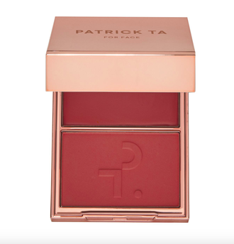 Patrick Ta Double-Take Cream + Powder Blush Duo - Палетка румян