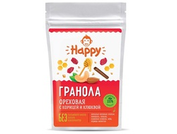 Гранола Happy Monkey ореховая