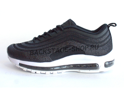 Кроссовки Nike Air Max 97 swarovski Navy Gray