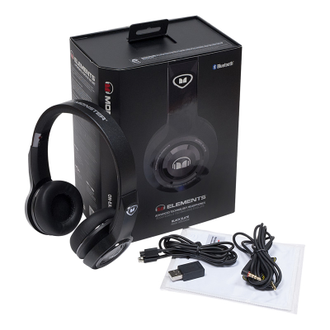 Monster Elements Wireless On-Ear Black Slate в soundwavestore-company.ru