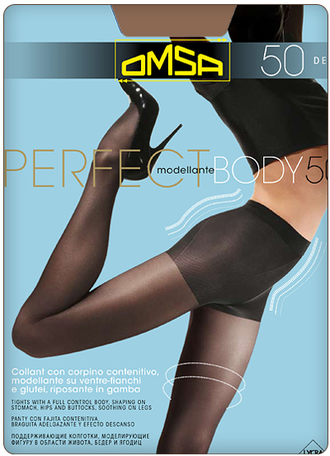 Omsa™ Perfect Body 50 den 4=L (Nero)