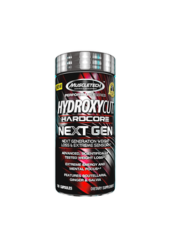 ЖИРОСЖИГАТЕЛЬ MUSCLETECH HYDROXYCUT HARDCORE NEXT GEN 100 КАПСУЛ
