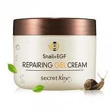 Крем-гель для лица с муцином улитки Snail Repairing Gel Cream 50гр