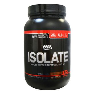​Изолят Optimum Nutrition Isolate GF 2lb 900 грамм