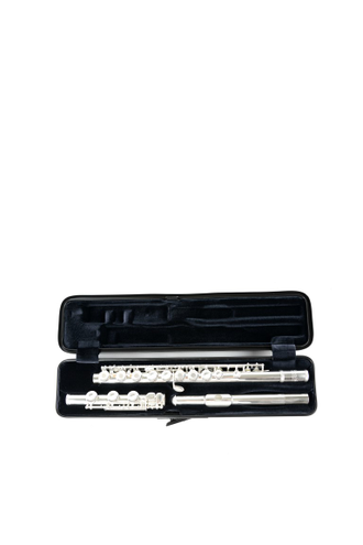 Кейс для флейты Bam Hightech Flute case Black Carbon look