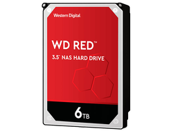 ЖЕСТКИЙ ДИСК HDD 6TB WESTERN DIGITAL RED SATA 6GB/S 5400RPM