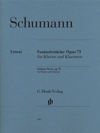 Robert Schumann Fantasy Pieces op. 73 for Piano and Clarinet