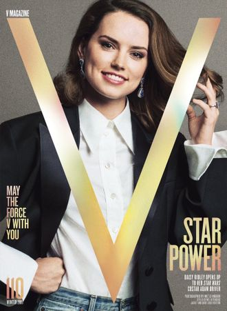 V Magazine № 110 Winter 2017 Daisy Ridley Cover Иностранные журналы Photo Fashion, Intpressshop
