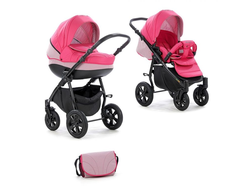 Универсальная коляска Tutis Zippy Tapu (2 в 1) Цвет Розовый/светло-серый