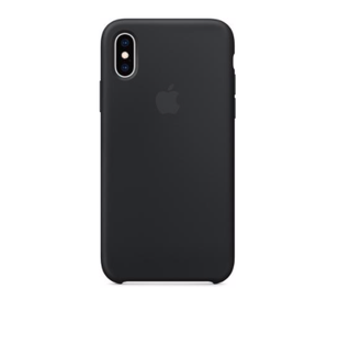 Клип-кейс Apple Silicone Case для iPhone Xs Чёрный