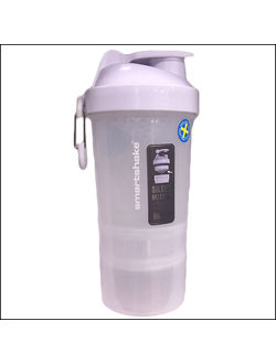 ШЕЙКЕР SMART SHAKE ORIGINAL2GO 600ML pure white