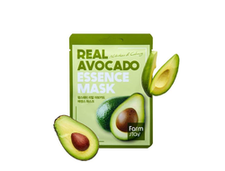 FarmStay Real Avocado Essence Mask Тканевая маска для лица с экстрактом авокадо 23мл