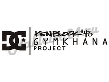Наклейка Gymkhana project