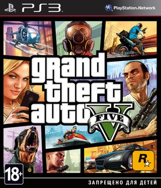 Grand Theft Auto V (GTA V) PS3 (GameSale)