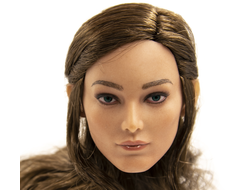 Женская голова (скульпт)  1/6 female head sculpture in Europe and America (NB-002D) - cowpen toys