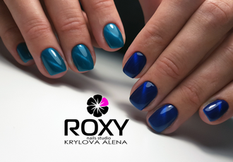 Гель-лак ROXY nail collection Cat's eye 107-Хвост кометы (10 ml)