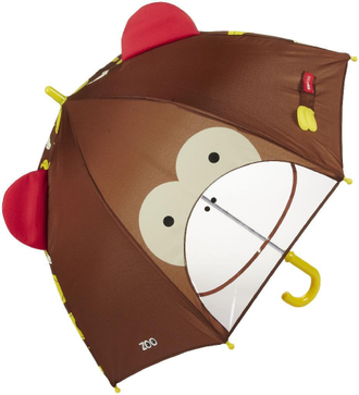 Детский зонт Skip Hop Zoobrella Little Kid Umbrella Обезьяна Monkey