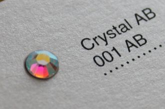 Crystal AB ss5 1,7-1,9 mm - 100 шт