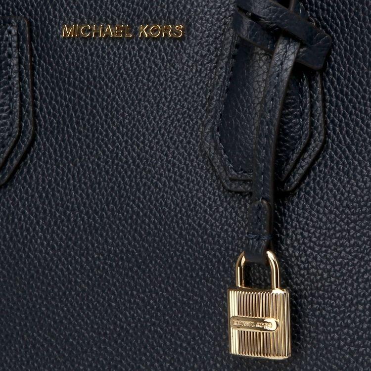 Сумка MICHAEL KORS Mercer Large Tote (Синяя) 29493e77e4d28