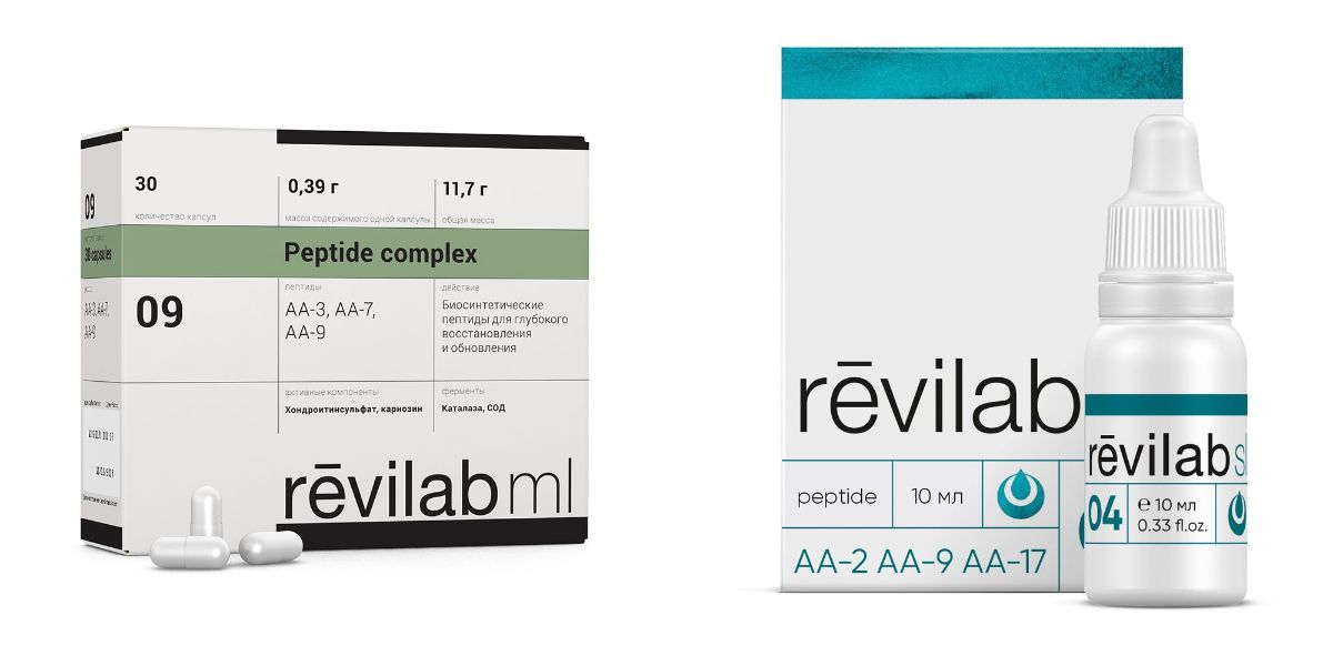 Пептиды Revilab SL 04 + Revilab ML 09 курс