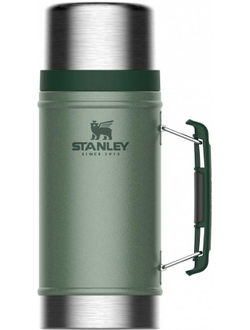 Термос STANLEY The Legendary Classic Food Jar, 0.94л, зеленый