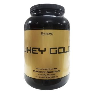(Ultimate Nutrition) Whey Gold - (908 гр) - (ваниль)
