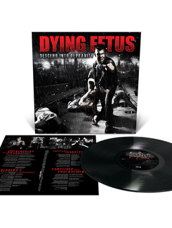 Dying Fetus - Descend Into Depravity LP