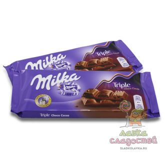 Шоколад Milka Triple Cacao на SweetBit.ru