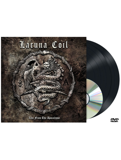Lacuna Coil - Live From The Apocalypse 2-LP+DVD