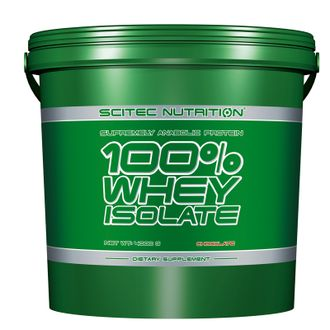 100% WHEY ISOLATE Scitec Nutrition 4000 грамм