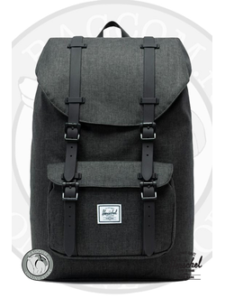 Herschel Little America Mid Volume Black Crosshatch/Black в магазине Bagcom