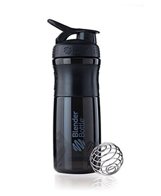Blender Bottle® SportMixer 828 ml Black/Black (Тонированный черный)