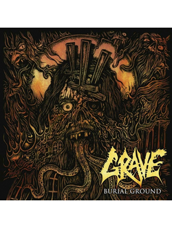 GRAVE Burial Ground (Re-issue 2019) CD