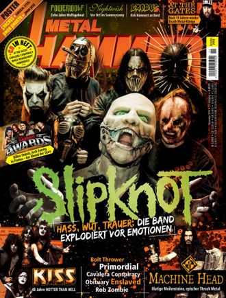 METAL HAMMER DEUTSCH Magazine July 2014 Slipknot Cover, Rammstein Inside ИНОСТРАННЫЕ МУЗЫКАЛЬНЫЕ ЖУР