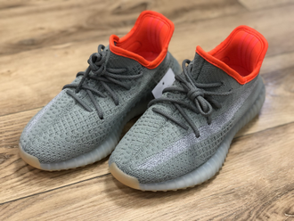 Кроссовки YEEZY BOOST 350 V2 Grey/Orange